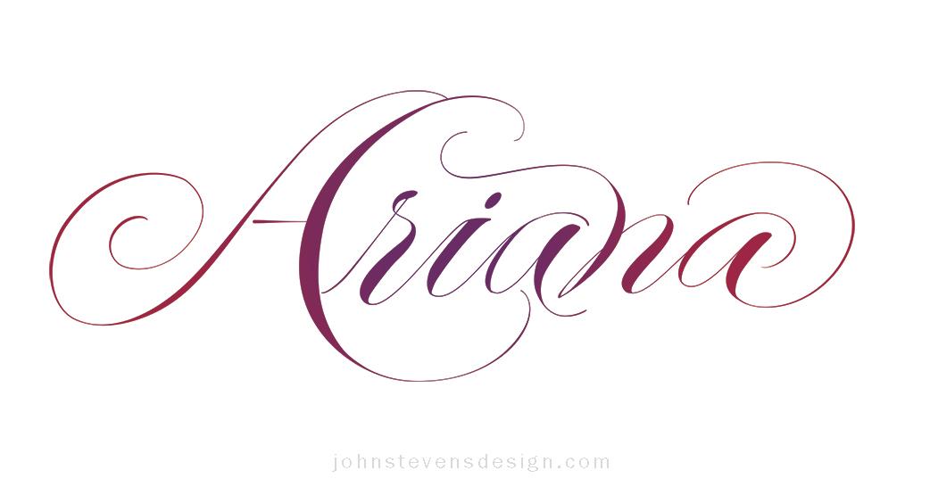 Hand-Lettering by John Stevens, master calligrapher & letterer