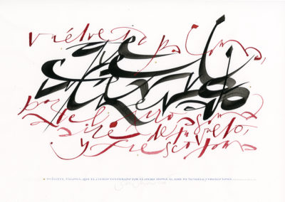 Text | Free Calligraphic work