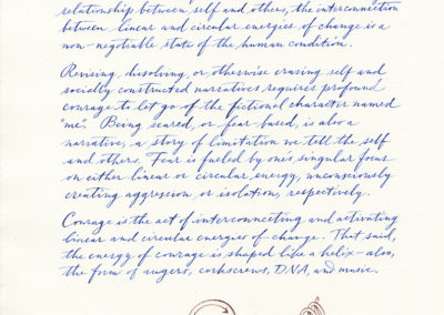 Hand-written Document page