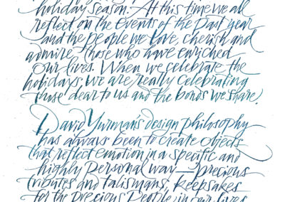 beautiful handwriting alphabet