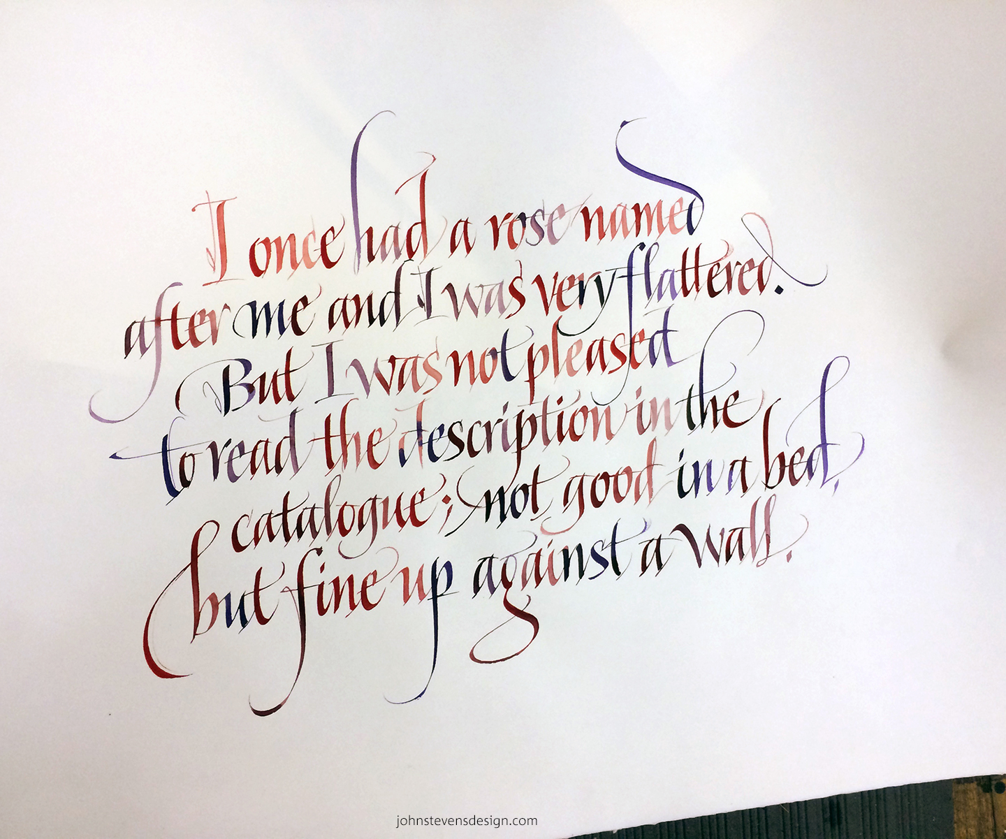 Art Calligraphy Drawing