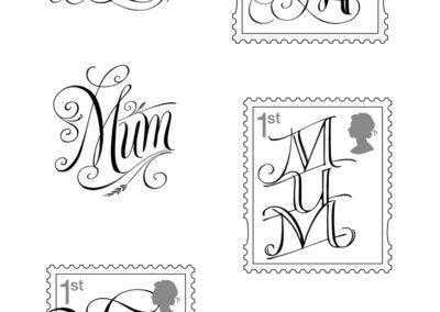 Mum-stamps