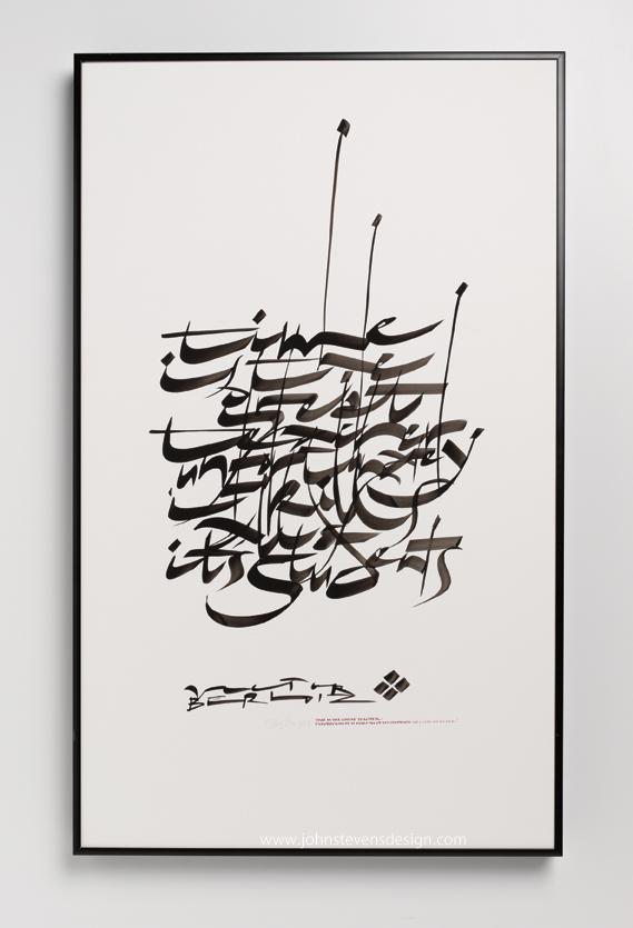 Brush styles john stevens calligraphy