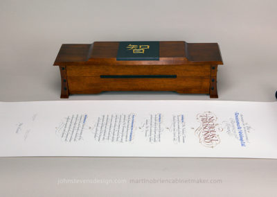 Scroll & box