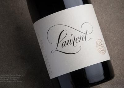 Laurent+Wine+Label+Design1