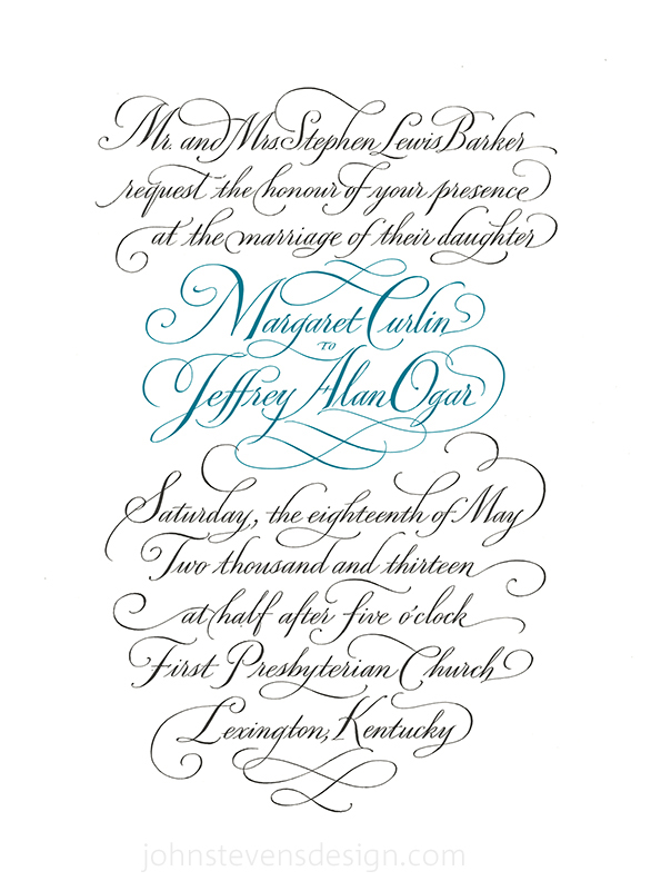 Wedding Calligraphy Fonts.Wedding Calligraphy Beautifully Designed Written