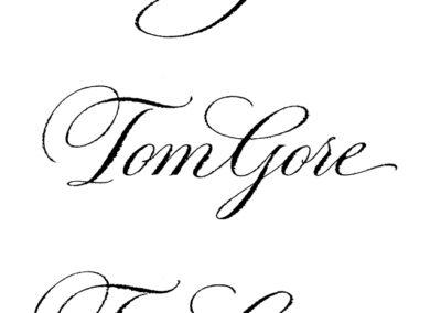Tom-Gore-callig