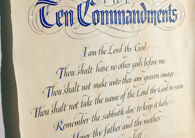 Ten Ccommandments
