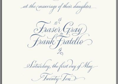 Fraser invite