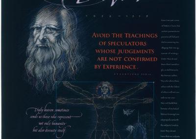 Leonardo Poster