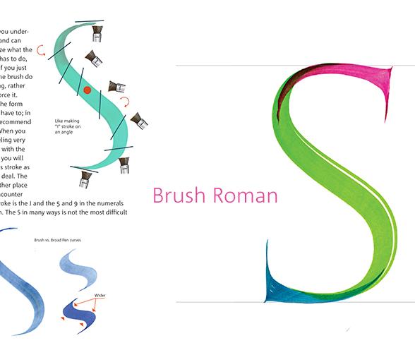 Brush Capitals Book John Stevens Calligraphy